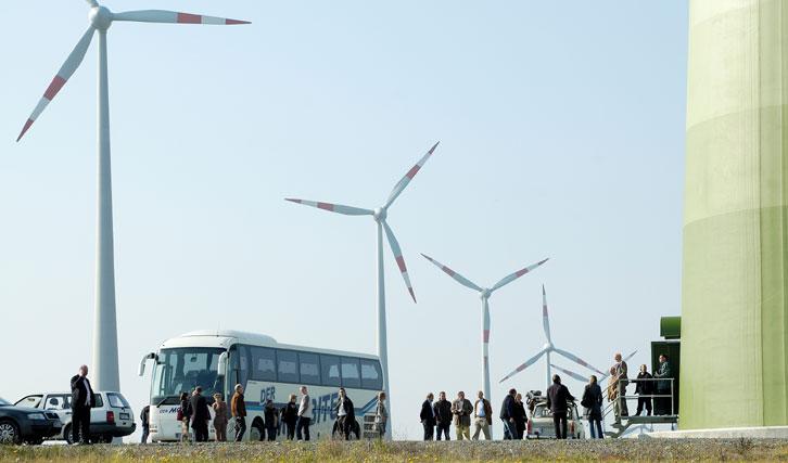Pressebereich Energiewende Schaffen. Foto: Agentur für Erneuerbare Energien