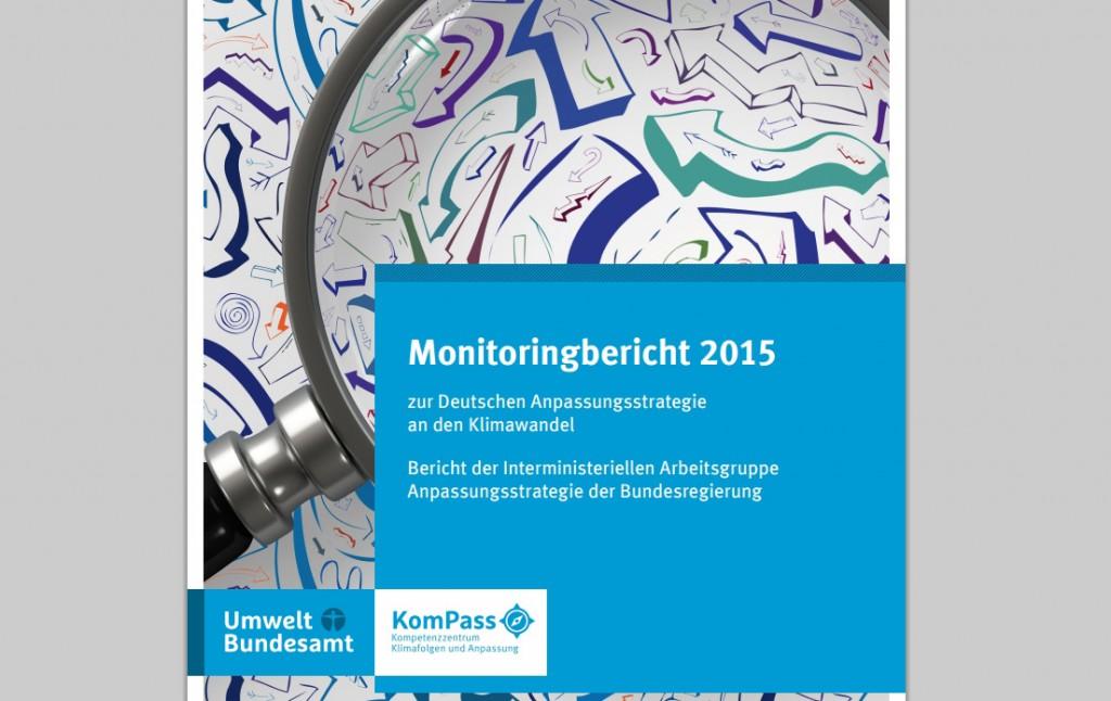 Monitoringbericht zur Deutschen Anpassungsstrategie an den Klimawandel 2015. Quelle: Umweltbundesamt.de