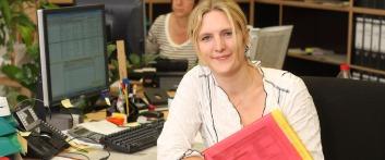 Unternehmensporträt EWS: Ausbildung im Bereich Büromanagement