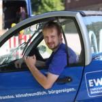 Unternehmensporträt EWS: Unterwegs mit Strom