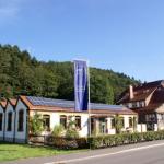 unternehmensporträt EWS: Solardach auf dem Betriebsgelände