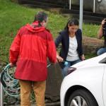 Energienetzwerkerin Carina in der Gemeinde Lindlar