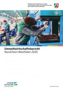 Umweltwirtschaftsbericht Cover. Quelle: http://www.umwelt.nrw.de/