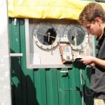 Messwerte der Biogasanlage überprüfen