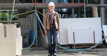 Bericht vom Videodreh Energieberaterin Petra