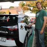 Auf leisen Rädern: Firmen-E-Mobil