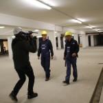 Mit unserem Anlagenmechaniker SHK Azubi und seinem Ausbilder auf der Baustelle