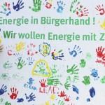 Das Motto von NATURSTROM: Energie in Bürgerhand. Wir wollen Energie mit Zukunft