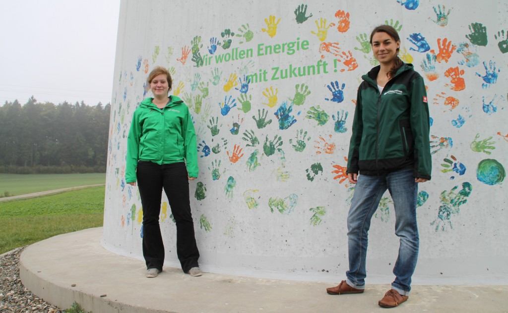 Monika Schauf, Planerin bei der NATURSTROM AG. Foto: Jasmin Welker   Energiewende schaffen
