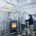 Tests am Verbrennungsofen | Foto: DBFZ