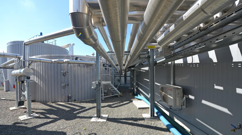 Forschungsbiogasanlage-Technik Foto: DBFZ