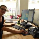 Bauzeichnerin Jeanette   Foto: Energiewende schaffen, Stephanie Pletsch