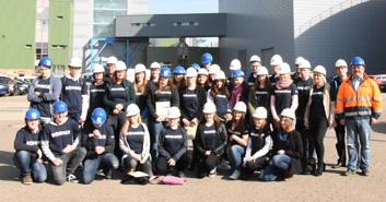 Energiewende Berufe der Gegend entdecken  – Berufsorientierungstour mit der Bertolt Brecht Gesamtschule Bonn