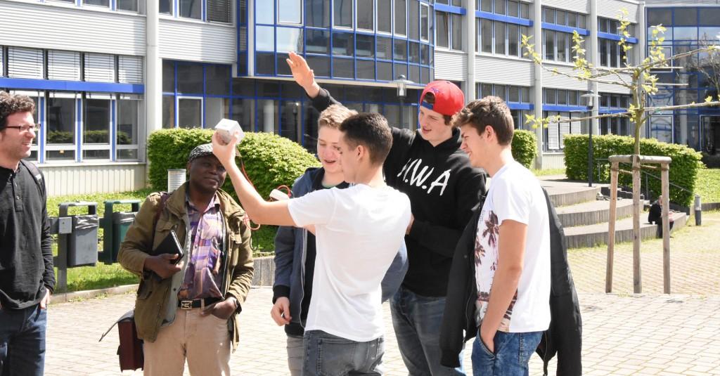 Solartests bei der Station an der Hochschule Bonn Rhein Sieg